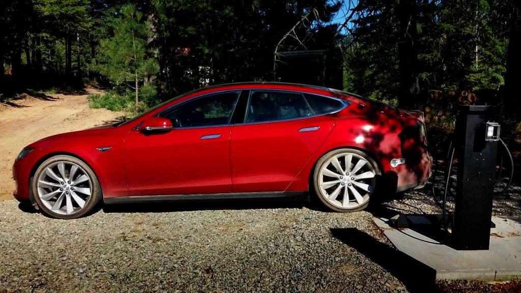 Tesla Amp Ev Charging Paradise Valley Chalet